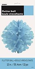 """12"""" Flutter Ball- Power Blue"""