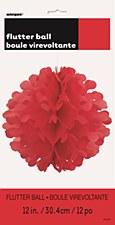 """12"""" Flutter Ball - Red"""