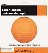 Orange 10in Lantern
