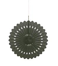Black Decorative Fan