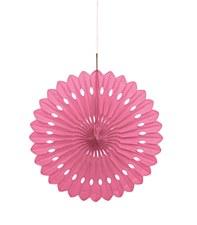 Decorative Fan Hot Pink