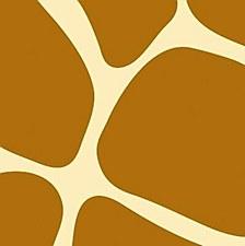 Animal Print-Giraffe Bev.Napkins