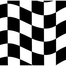 Black & White Check Lunch Napkins, 18ct