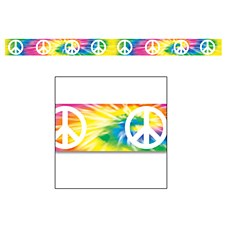 Peace Sign Party Tape