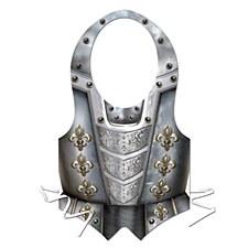 Pkgd Plastic Medieval Vest