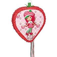Strawberry Shortcake Pull Piñata