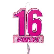 Sweet 16 Pull Piñata