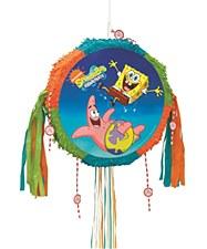 SpongeBob Squarepants & Friends Drum Pull Pop-Out Piñata