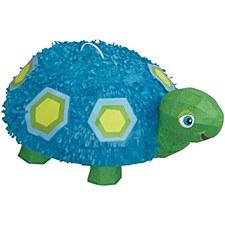 1st Birthday Blue Turtle 3D Pinata