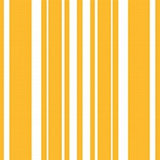 Stripe School Bus Yellow Bev. Napkin