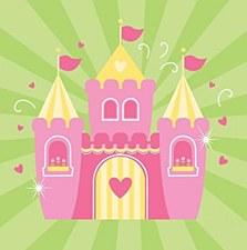 Fairytale Princess Lunch Napkins