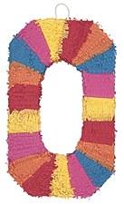 Number 0 Pinata, Multicolor