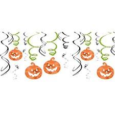 Halloween Swirl Decorations