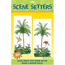 Palm Tree Scene Setters Add-Ons - Plastic
