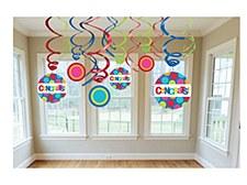Congratulations Swirl Decorations