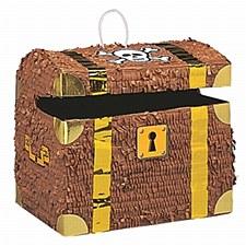 Pirate Fun Treasure Chest Pinata011179066629