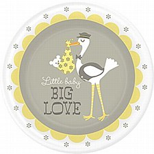 LITTLEBABY BIG LOVE 8 PLATES