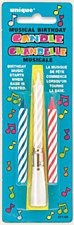 1 Twist-on Musical Birthday Candles