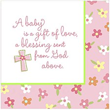 16ct Lun/Napkins Blessed/girl