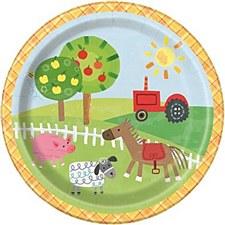 "Farm Party 7""Plates"