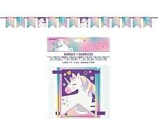 Pastel Unicorn Pennant Banner