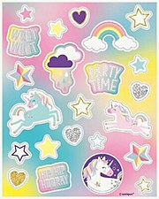 Unicorn Theme Stickers