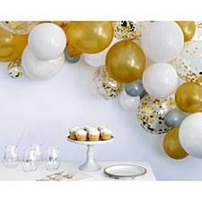 Gold Balloon Arch Kit