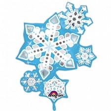 SNOWFLAKE MYLAR SUPERSHAPE