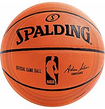 Spalding Basketball Lunch Plates 18ct