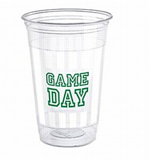 Game Day Plastic Cups