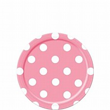 Lovely Pink Dots 7IN Plate
