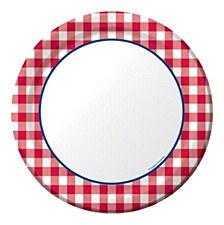 Gingham Fun 7IN Plate