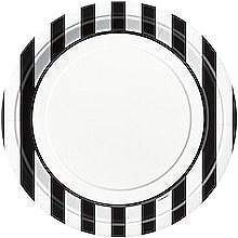 Black Stripe 9IN Plate