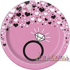 """Bachelorette 7""""Plates"""