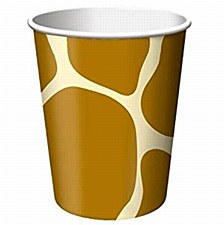 Animal Print-Giraffe Cups