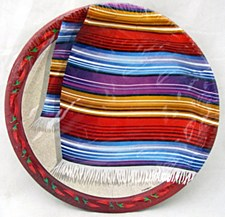 Fiesta Serape 9in Plate