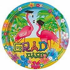 "Grad Flamingos 9""Plates"