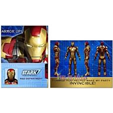 Iron man 3 Invitations
