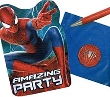 Spider-Man 2 Invitations
