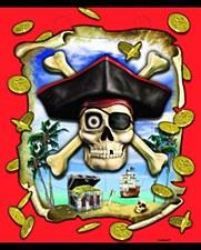 8 Pirate Loot Bags