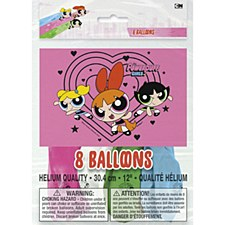 Powerpuff Girls Latex Balloons