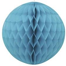 "Caribbean Teal 8"" Honeycomb Ball"