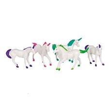 8 Unicorn Figurines