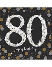 Sparkling Celebration 80 Bev. Napkins