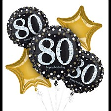 Sparkling 80th Birthday