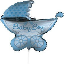 Air Filled Baby Boy Balloon