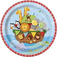 Noah's Ark Plates