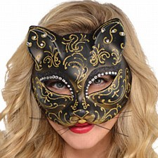 Venetion Cat Mask