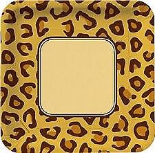 Animal Print Leopard 9IN Plate