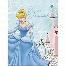 Disney Princess Cinderella Invitations